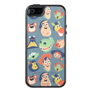 Vintage Painted Toy Story Characters OtterBox iPhone 5/5s/SE Case