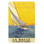 Vintage países del Loira, La Baule, Francia - Imán Foto Rectangular