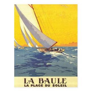 Vintage países del Loira, La Baule, Francia - Tarjetas Postales
