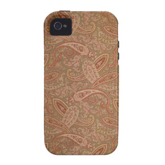 vintage paisley Case-Mate iPhone 4 cases