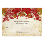 Vintage Paisley Damask Table Place Cards Business Cards