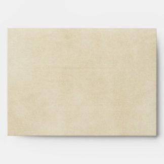 Vintage Paisley Envelope