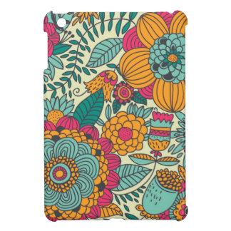 Vintage Paisley Flowers iPad Mini Covers