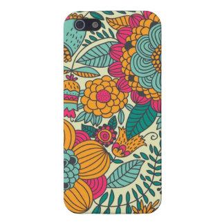 Vintage Paisley Flowers iPhone SE/5/5s Case