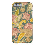 Vintage Paisley Funda De iPhone 6 Barely There