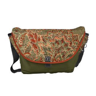 Vintage Paisley Messenger Bag