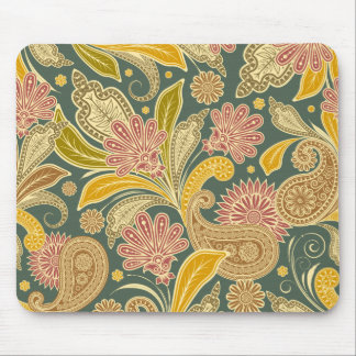Vintage Paisley Mouse Pad