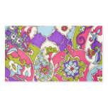 Vintage Paisley Pattern Double-Sided Standard Business Cards (Pack Of 100)