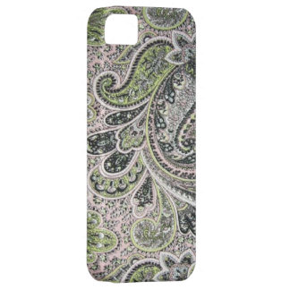 Vintage Paisley Pink Sage Case-Mate iPhone 5 iPhone SE/5/5s Case