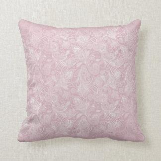 Vintage Paisley rosada Almohadas