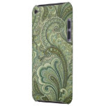 Vintage Paisley Sage Case-Mate iPod Touch Barely There iPod Case