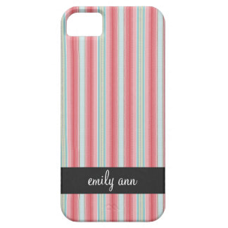 Vintage Pajama Stripes Pattern iPhone4 Case