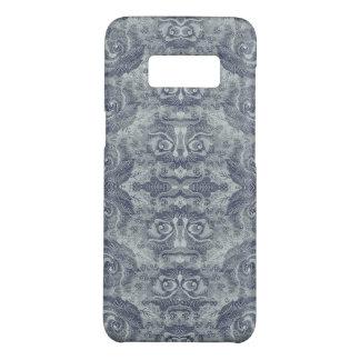 Vintage Pale Blue Floral Pattern Samsung Case