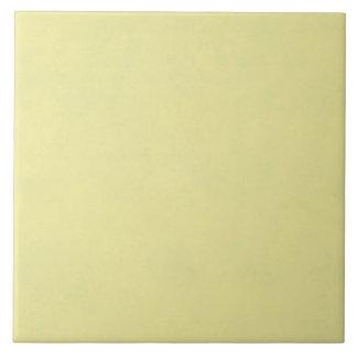 Vintage Pale Yellow Paper Parchment Background Large Square Tile