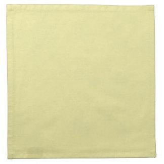 Vintage Pale Yellow Paper Parchment Background Napkins