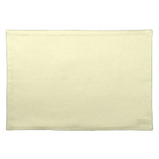 Vintage Pale Yellow Parchment Background Template Cloth Placemat
