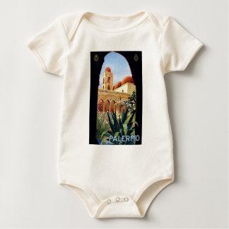 Vintage Palermo Sicilia Baby Bodysuits