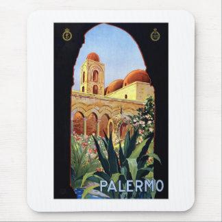 Vintage Palermo Sicilia Mouse Pad