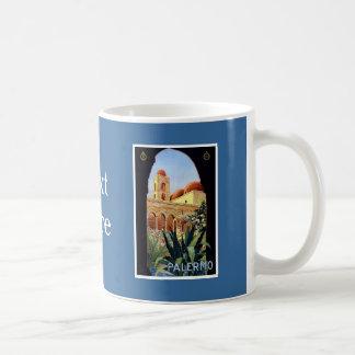 Vintage Palermo Sicilia Classic White Coffee Mug