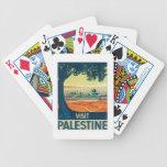 Vintage Palestina Oriente Medio Barajas De Cartas