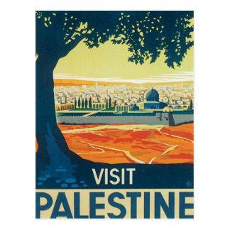 Vintage Palestina Oriente Medio Tarjetas Postales