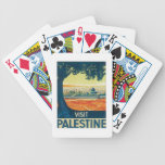 Vintage Palestine Middle East Bicycle Playing Cards