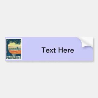 Vintage Palestine Middle East Bumper Stickers