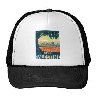 Vintage Palestine Middle East Hat
