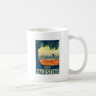 Vintage Palestine Middle East Coffee Mugs
