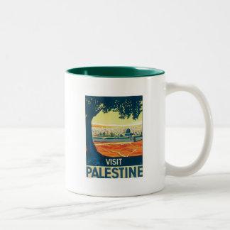 Vintage Palestine Middle East Coffee Mug