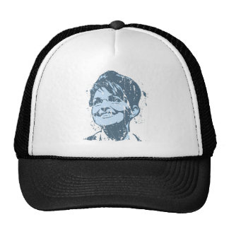 VINTAGE PALIN (blue) Trucker Hat