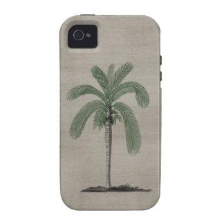 Vintage Palm Tree Vibe iPhone 4 Case