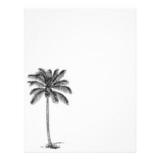 Vintage Palm Tree Letterhead