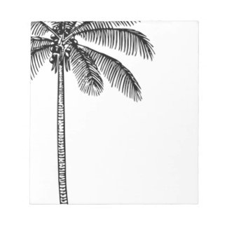 Vintage Palm Tree Notepad