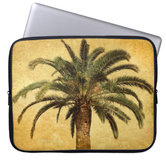 Vintage Palm Tree - Tropical Customized Template Computer Sleeves