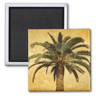 Vintage Palm Tree - Tropical Customized Template Magnet