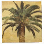 Vintage Palm Tree - Tropical Customized Template Printed Napkin