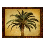 Vintage Palm Tree - Tropical Customized Template Posters