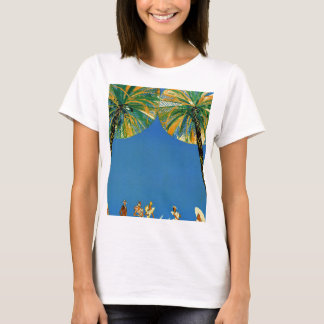 Vintage Palm Trees Cote D'Azur T-Shirt