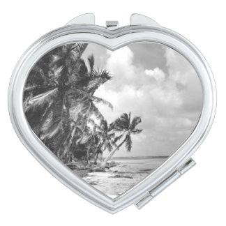 Vintage Palm Trees Vanity Mirror