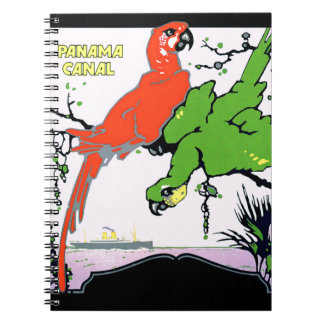 Vintage Panama Canal Travel Notebook