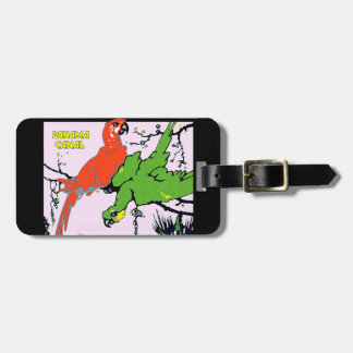 Vintage Panama Canal Travel Tag For Luggage