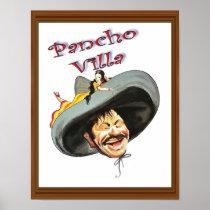 Vintage Pancho Villa Poster
