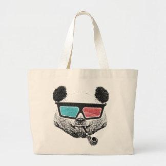 Vintage panda 3-D glasses Bolsas