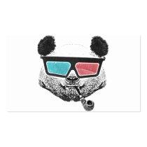 funny, panda, vintage, cool, urban, humor, street art, animal, geek, hipster, graffiti, nerd, pop art, cute, crazy, original, best, selling, business card, Business Card with custom graphic design