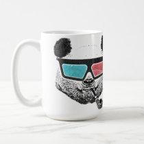 panda, cool, 80's, funny, urban, geek, graffiti, mug, street, art, nerd, swag, lifestyle, fun, crazy, humor, original, mugs, Caneca com design gráfico personalizado