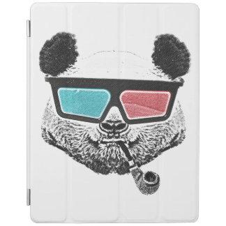 Vintage panda 3-D glasses iPad Cover