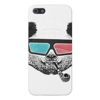 Vintage panda 3-D glasses iPhone SE/5/5s Case