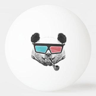 Vintage panda 3-D glasses Ping-Pong Ball
