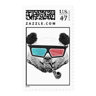 Vintage panda 3-D glasses Postage